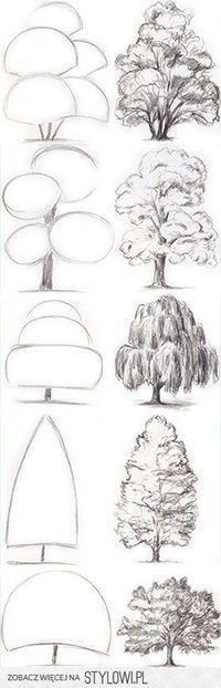 New Ideas Tree Drawing Tutorial Backgrounds Art Inspo, Kunst Inspo, Inspiration Art, Pencil Art Drawings, Art Drawings Sketches, Art And Illustration, Manga Illustrations, Design Illustrations, Art Du Croquis