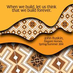When we build...