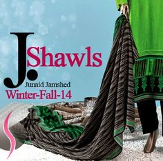 Junaid Jamshed Shawls for Women | Winter Shawls for Girls - She9 | Change the Life Style