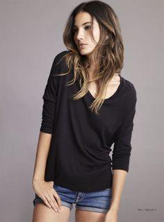 #Lily Aldridge -- casual style.