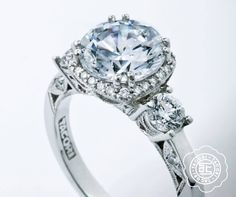 "Tacori Engagement Rings starting at $3995. Explore Tacori options at Miami Lakes Jewelers. www.miamilakesj.com. ""Share"", if you want to give a hint.   #MiamiLakesJewelers #Tacori"