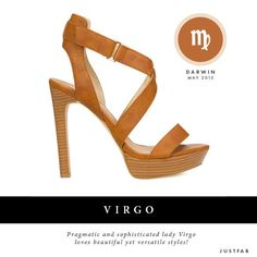 Virgo, read your May 2013 JustFab Style-Scope.