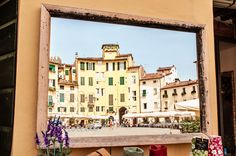 https://flic.kr/p/L2kp3D | Piazza dell'Anfiteatro, Lucca | Mirror with view on…