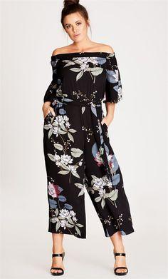 Blossom Off Shoulder Jumpsuit