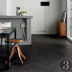 matt black floor tile - Google Search