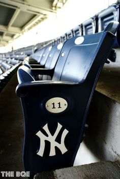 New York Yankees Seats 8x12 Photography Print, NYC, Baseball, Yankee Stadium, Fine Art by thebqe. $35.00, via Etsy.