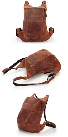 Mens leather backpack Vintage leather backpack large size Brown leather backpack for him Men's backpack vintage style Handmade bag Leather Gifts, Leather Bags Handmade, Handmade Bags, Leather Men, Vintage Leather Backpack, Brown Leather Backpack, Leather Bag Design, Men's Backpack, Leather Projects