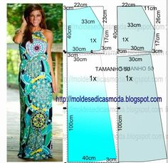 Maxi dress / patterns instructions