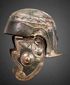 Roman Cavalry helmet.                                                                                                                                                                                 Mehr