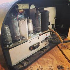 Another vintage radio rebuild coming soon. #Zenith tube radio will soon be rocking Bluetooth jams.
