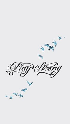 Stay strong ~ Demi Lovato ❤️