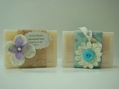 Beautiful soap labels