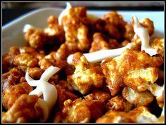 Cinnamon Bun Popcorn - dangerous