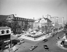 Hôpital Hôtel-Dieu / Rhéal Benny. – 9 juin 1961 - Archives de Montréal Montreal Ville, Of Montreal, Close To Home, Photos Du, Rue, Paris Skyline, Backdrops, Dolores Park, Canada