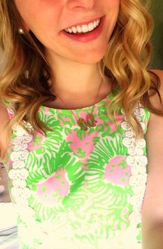 prepofthesouth: pearls-curls-and-lilly-girls: easter ready! Love this shift Southern Fashion, Preppy Southern, Southern Style, Southern Prep, How To Look Classy, How To Look Pretty, Preppy Essentials, Preppy Style, My Style