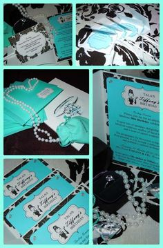 Breakfast at Tiffany's / Audrey Hepburn / Tiffany & Co Birthday Party Ideas | Photo 1 of 14 | Catch My Party