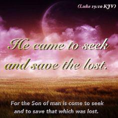 Luke 19:10 KJV