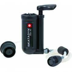 Gear up for outdoors   Katadyn Hiker pro  Micro-filter  $99.99