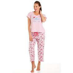 8e421d52c8 Camille Pampered Princess Womens Cotton Pyjamas Pajama Set