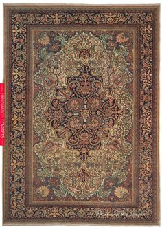 Guide to Ferahan Rugs and antique Ferahan Sarouk Rugs The history and art of collectable antique Ferahan and Ferahan Sarouk Rugs, antique Persian Carpets from the Claremont Rug Company. Carpet Sale, Rugs On Carpet, Animal Skin Rug, Iranian Rugs, Iranian Art, Dark Carpet, Rug Company, Home Rugs, Persian Carpet