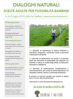 Non scuola di Bambini e Natura  http://www.bambinienatura.it
