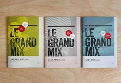 Graphic Design by Les Produits de L'épicerie | Inspiration Grid | Design Inspiration