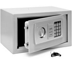 Coffre fort à combinaison électronique 20cmx31cmx20 cm poids 7 kg: Amazon.fr: Bricolage