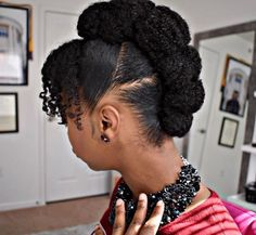 Protective Hairstyles For Natural Hair, Braided Hairstyles For Black Women, Natural Hair Updo, Natural Hair Styles For Black Women, African Hairstyles, Afro Hairstyles, Natural Hairstyles, Updos Hairstyle, Natural Styles