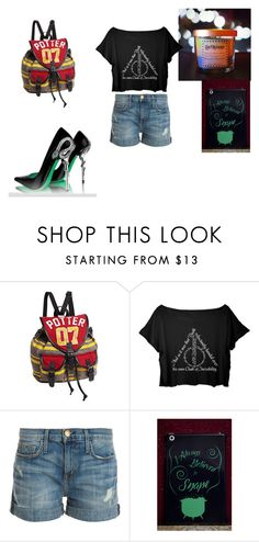 """""""Harry Potter 28"""" by hamlover1000 ❤ liked on Polyvore featuring Current/Elliott"""
