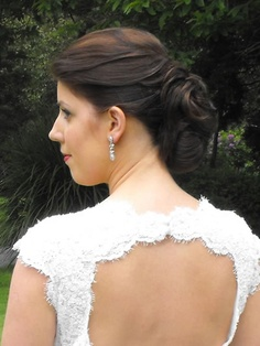 Wedding Hair by Pat O' Neill - The Brehon Killarney Wedding Hairstyles, Earrings, Fashion, Ear Rings, Moda, Stud Earrings, Fashion Styles, Ear Piercings, Wedding Hair