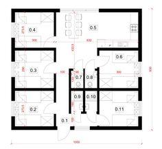 Hotel modułowy, czasowy, całoroczny - pracowniczy - CONTiBOX Hostel, Floor Plans, Diagram, Floor Plan Drawing, House Floor Plans