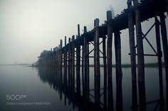 Popular on 500px : U Bein bridge by atipanit
