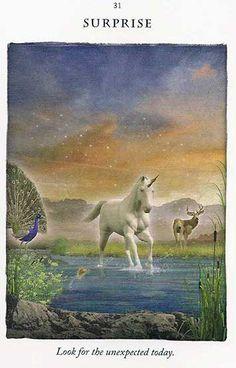 """SURPRISE"" - Today's Unicorn Card – Diana Cooper"