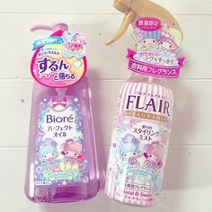【2015.11.04】★花王 Flare fragrance mist Floral & Sweet body, 297円(税込) ★花王 Biore Makeup Remover ★ #Econeco #LittleTwinStars #40thAnniversary