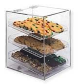 Aubright - Clear Acrylic Bakery Case - Two Tier - Acrylic Display Cases Bakery Display Case, Pastry Display, Display Cases, Display Stands, Restaurant Equipment, Restaurant Supply, Acrylic Display Case, Cookie Tray, Cupcakes