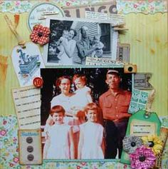 Scrapbooking.com -- Scrapbooking.com -- Layout - It Was Summertime in Northern Michigan by Jean Marmo
