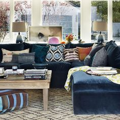 New Design Neutral: The Blue Sofa
