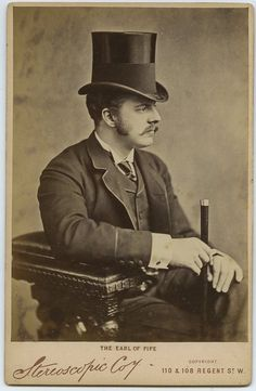 carolathhabsburg: The handsome and dandy Earl of Fife, husband of Pss Louise of Wales. Late 1880s