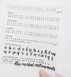 Stand Out in Business the Write Way – Improve Handwriting Handwriting Samples, Pretty Handwriting, Handwriting Alphabet, Hand Lettering Alphabet, Calligraphy Handwriting, Handwriting Practice, Penmanship, Types Of Handwriting, Cursive