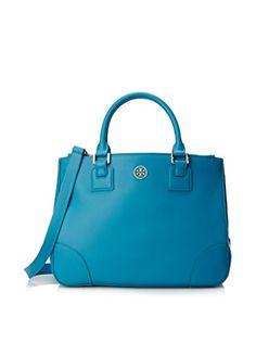 Tory Burch Robinson Double Zip Tote Large (Electric Eel)  58b7205ec1e