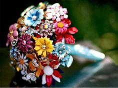 Brooch Bouquet @Jackie Cardinal