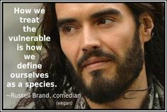 I can't believe I'm pinning a Russell Brand quote, but this is wonderful.