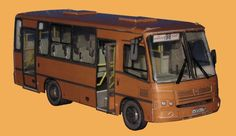 PAZ-3204 Bus Free Vehicle Paper Model Download - http://www.papercraftsquare.com/paz-3204-bus-free-vehicle-paper-model-download.html#143, #Bus, #PAZ, #PAZ3204, #VehiclePaperModel