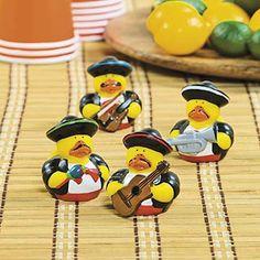 Mariachi Rubber Duckies - orientaltrading.com