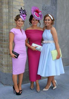 Ladies Day Outfits, Race Day Outfits, Derby Outfits, Races Outfit, Horse Race Outfit, Derby Attire, Kentucky Derby Outfit, Kentucky Derby Fashion, Tea Party Attire