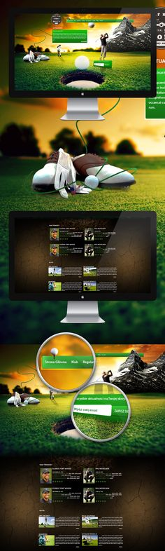 Golf Klub on Behance