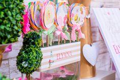 Vintage Garden Candy Buffet