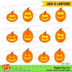 Halloween Heads Digital Clip Art | Pinterest | Backgrounds ...