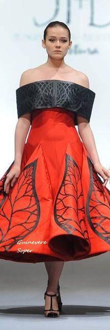 Jesus Ibarra & Bertholdo (JI+B) Couture Fall 2015 Mercedes Benz Mexico Fashion Week