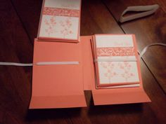 Stationary box for 10 cards by pageit - Cards and Paper Crafts at Splitcoaststampers